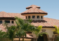 Galena Buttercup Blend Tile Roof