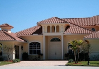 Bella Canyon Clay No Antique Sealed Smooth Tile Roof