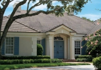 Plantation Broom Swept Tile Roof
