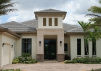 Plantation Taupe Tapered Shake Tile Roof