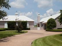 white flat tile roof