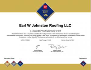 GAF MasterElite Roofing Contractor
